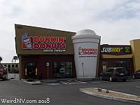 Dunkin' Donuts Coffee Cup