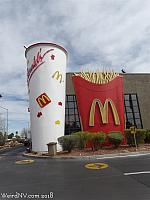 McDonalds near Sahara and Rainbow has giant Fries and Soda!