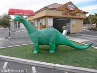 Sinclair Dinosaur in Las Vegas