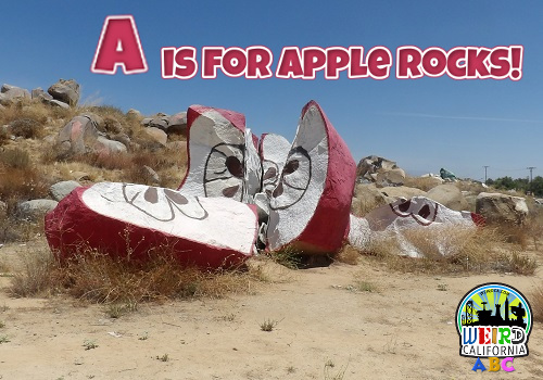 A is for Apple Rocks