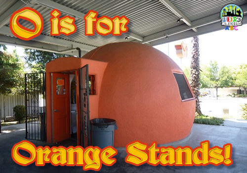 O is for Orange Stands