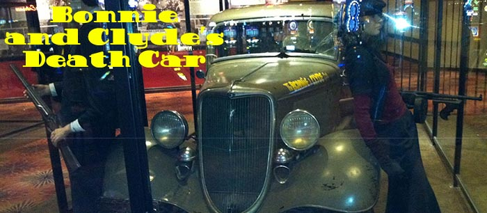 Bonnie and Clyde's Death Car